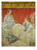 Painting from the Villa Boscoreale Reproduction procédé giclée