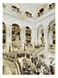 Inauguration of the Paris Opera House, 5th January 1875, 1878 Giclee Print by Jean-Baptiste Edouard Detaille