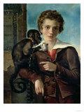 "Portrait of Marius Petipa in Ballet ""Dancemania,"" 1837, Giclee Print"