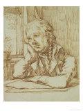 Self Portrait Giclée-Druck von Caspar David Friedrich