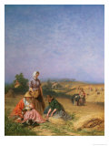 Gleaning Giclee Print by George Elgar Hicks