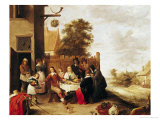 The Feast of the Prodigal Son, 1644 Giclee Print by David Teniers the Younger