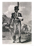 Portrait of Francois Dominique Toussaint-Louverture (circa 1743-1803) Giclee Print