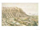Battle of Buena Vista, View of the Battle Ground and Battle of &quot;The Angostura&quot; Giclee Print by T. Palmer