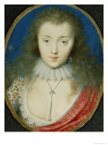 Portrait of a Girl, Probably Venetia Stanley (1600-1633), Later Lady Digby Giclee Print by Peter Oliver