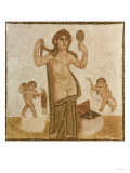 Venus at Her Toilet, from Thuburbo-Majus, Roman, 3rd Century AD Giclee Print