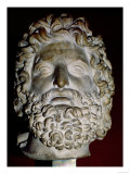Head of Zeus Giclee Print
