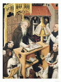 Interior of a Scriptorium, School of Segovia Giclee Print