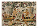 The Triumph of Neptune and Amphitrite, Detail of Cupids Fishing Giclee Print