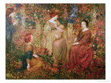 The Child Premium Giclee Print by Thomas Edwin Mostyn