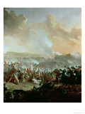 The Battle of Waterloo, 18th June 1815 (Right Panel) Giclee Print by Denis Dighton