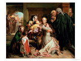 The Acquittal Premium Giclee Print by Abraham Solomon