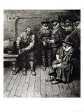 The Master Caused Us to Have Some Beere, from Harper's Magazine, 1883 Giclee Print by Howard Pyle