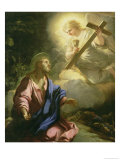The Prayer in the Garden Giclee Print by Luca Giordano