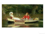 With the River, 1869 Giclee Print by Philip Hermogenes Calderon