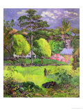 Landscape, 1901 Reproduction procédé giclée par Paul Gauguin
