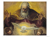 The Eternal Father Premium Giclee Print by Paolo Veronese