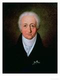 Portrait of Johann Wolfgang Von Goethe (1749-1832), 1818 Giclee Print by Ferdinand Jagemann