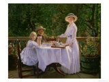 Summer Afternoon Tea Giclee Print by Thomas Barrett