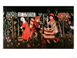 Tapestry: the Labours of the Months, Alsatian, Mid 15th Century Giclee Print
