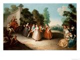 La Danse Giclee Print by Philippe Mercier