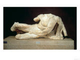 Cephisus or Illisus (A River God) from the West Pediment of the Parthenon, 447-432 BC Giclee Print