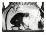 Ajax Preparing for His Death, Illustration after a 6th Century BC Greek Krater Vase Premium Giclee Print