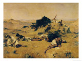 The Land of Thirst, circa 1869 Giclee Print by Eugene Fromentin