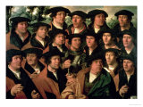 Group Portrait of the Shooting Company of Amsterdam, 1532 Giclee Print by Dirk Jacobsz