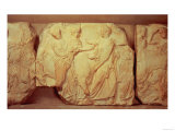 Heifers Led to Sacrifice, from the South Frieze of the Parthenon, 447-432 BC Giclee Print