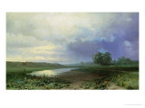 Wet Meadow, 1872 Giclee Print by Fedor Aleksandrovich Vasiliev