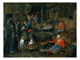 The Distinguished Visitor Giclee Print by Jan Brueghel the Elder