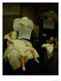 The Sisters of Mercy, 1859 Giclee Print by Henriette Browne