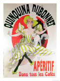 "Poster Advertising ""Quinquina Dubonnet"" Aperitif, 1895 Giclee Print by Jules Chéret"