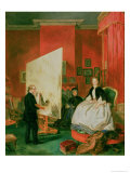Frith in His Studio Giclee Print by John Ballantyne