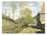The Stream of Robec at Rouen, 1872 Reproduction procédé giclée par Claude Monet