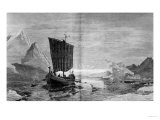 "The Discovery of Greenland, from ""Harper's Weekly,"" Vol. 19 P.780-81, 1875 Giclee Print"