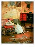 La Liseuse Giclee Print by Georges Croegaert