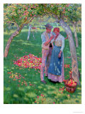 The Orchard Giclee Print by Nelly Erichsen