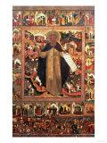 Life of St. Sergius of Radonesh, 1640s Giclee Print