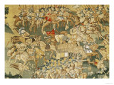 The Battle of Jarnac and the Assassination of Louis I of Bourbon (1530-69) 1570-80 Giclee Print