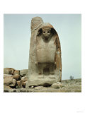 Gateway with Carved Sphinx Giclee Print