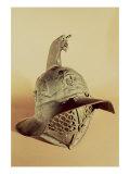 Thracian Gladiator's Helmet Giclee Print