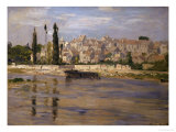 Carrieres-Saint-Denis, 1872 Giclee Print by Claude Monet