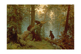 Morning in a Pine Forest, 1889 Giclee Print by Ivan Ivanovich Shishkin
