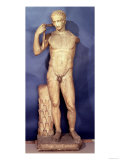 The Farnese Diadumenos (Marble), Roman Copy, 1st Century AD of a Greek Statue Dated 440Bc Giclee Print