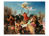 Godfrey De Bouillon, French Crusader Giclee Print by Karl Mucke