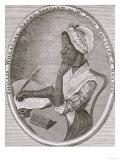 Portrait of Phillis Wheatley (circa 1753-84) Premium Giclee Print