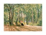 At the Summer Cottage, 1894 Reproduction procédé giclée par Ivan Ivanovitch Shishkin