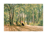 At the Summer Cottage, 1894 Giclee Print by Ivan Ivanovitch Shishkin